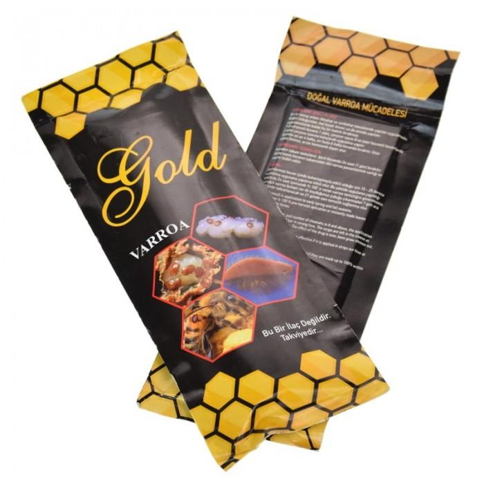 Полоски Голд Варроа (Gold Varroa) 10 полосок, Турция, рис. 1