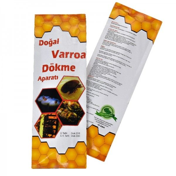 Смужки Догал Вароа Докме БІЛИЙ (Dogal Varroa Dokme), Туреччина, мал. 1