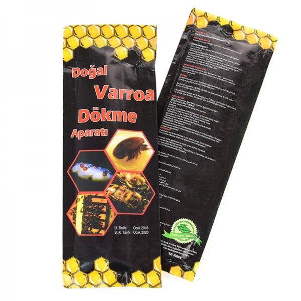 Полоски Догал Вароа Докме ЧЕРНЫЙ (Dogal Varroa Dokme), Турция, рис. 1