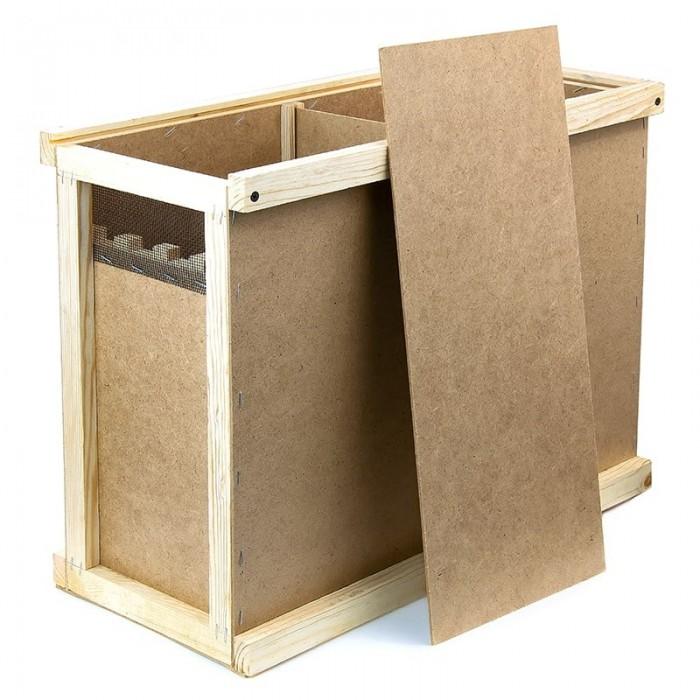 Ящик для пчелопакетов (4 рамки Дадан), рис. 1