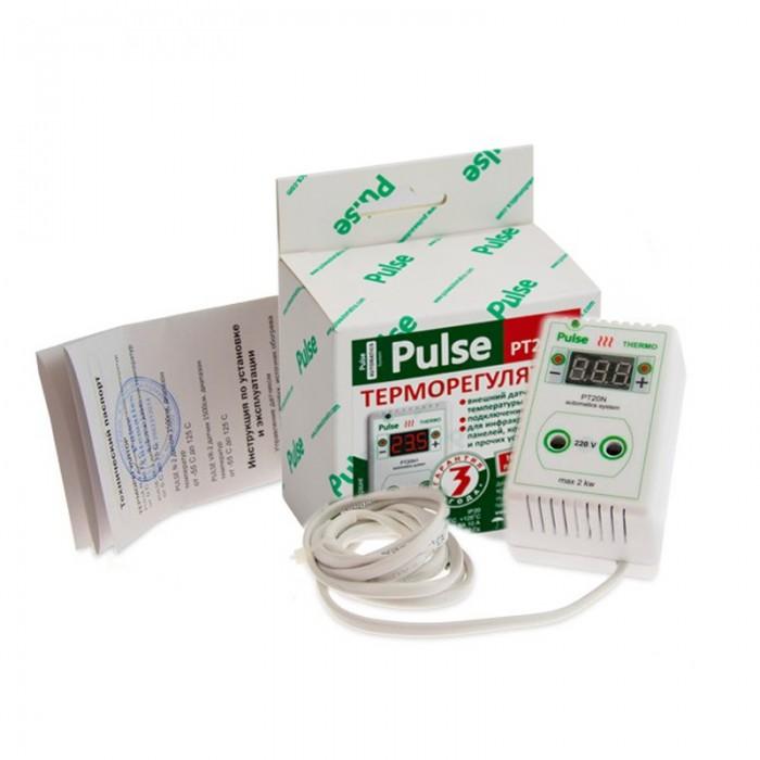 Терморегулятор для обігрівача вулика розетковий цифровий Pulse PT20N2 (мал. 1)