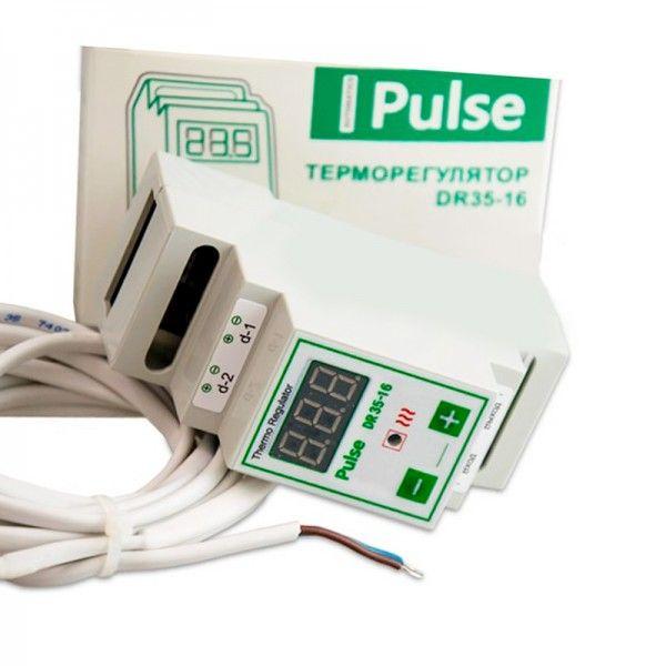 Терморегулятор для обогревателя улья цифровой Pulse DR35-16 на DIN-рейку (рис. 1)