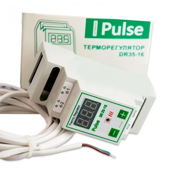 Терморегулятор для обігрівача вулика цифровий Pulse DR35-16 (мал 1)