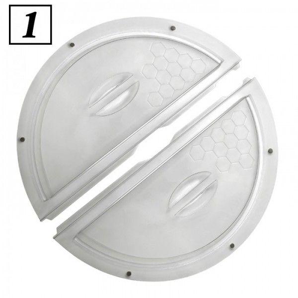 Крышка для медогонки, пластиковая с магнитами рис.1.1