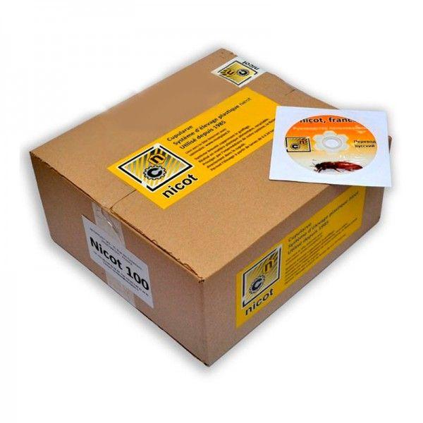 Система Никот 100 - максимальный комплект для для выведения маток в пчеловодстве (рис 1)