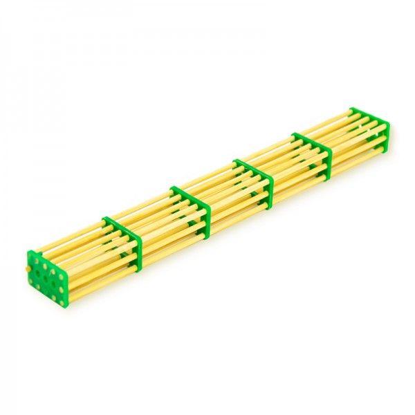 Бамбуковая клеточка на 5 отсеков (рис 1)