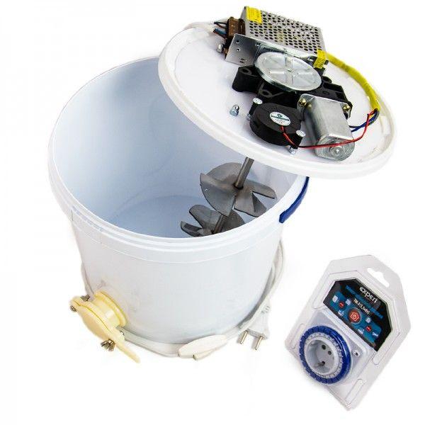 Устройство для кремования мёда с таймером электропитания