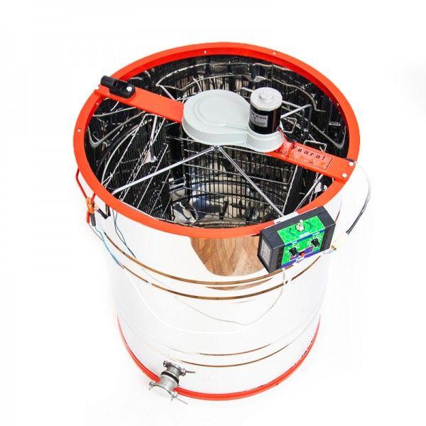 Медогонка 4-х рамочная нержавеющая с электроприводом