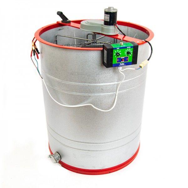 Медогонка 4-х касетна, алюмоцинкова з електроприводом PULSE RD