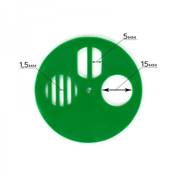 Летковый заградитель круглый, Ø 50 мм (рис. 4)