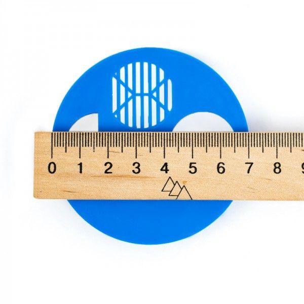 Летковый заградитель круглый, Ø 70 мм (рис. 3)