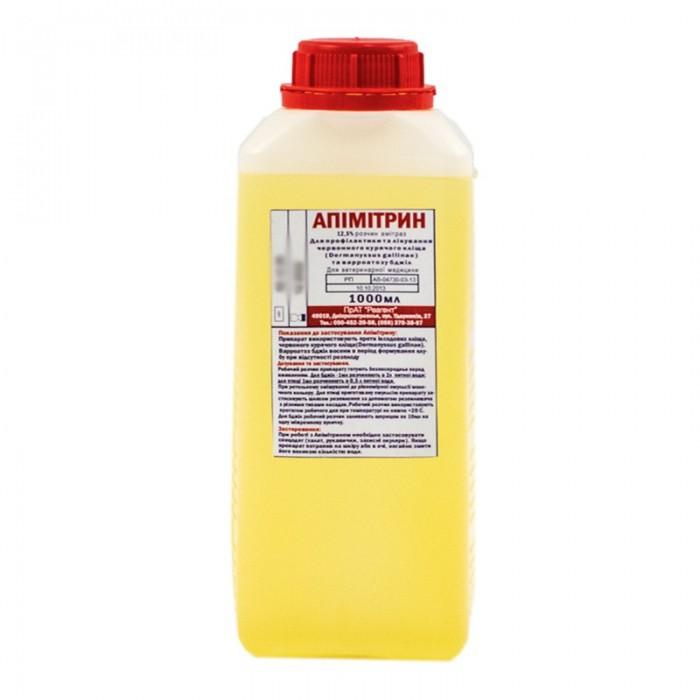 Апимитрин (амитраз 12,5%) 1 литр