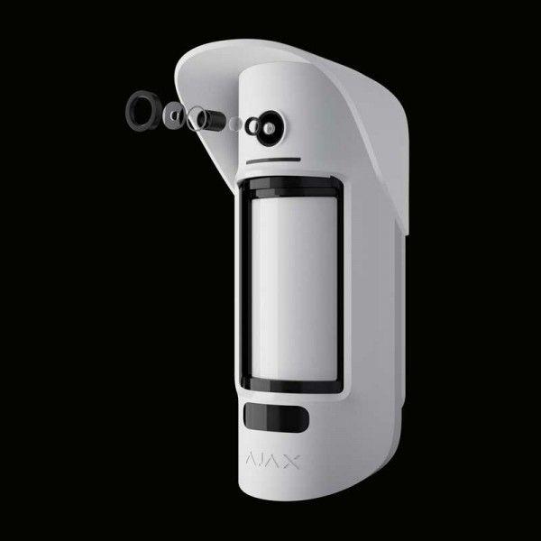 AJAX MotionCam Outdoor беcпроводный уличный датчик движения с фотокамерой (рисунок 7)