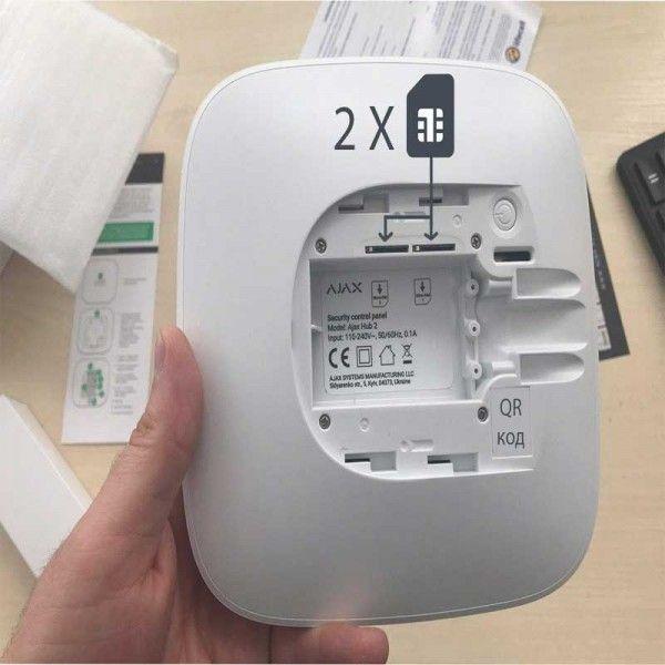 AJAX Hub 2 - умная централь системы безопасности (Рисунок 4)