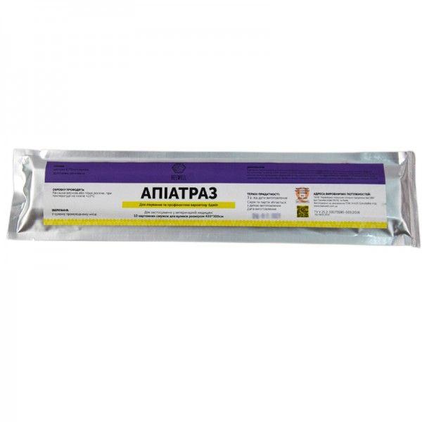 Апиатраз (10полосок) от варроатоза (Амитраз), рис. 3