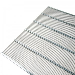 Решетка разделительная на 10 рамок (металл) 470х385мм