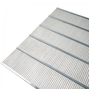 Решітка роздільна на 10 рамок (метал) 470х385мм