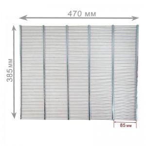 Решетка разделительная на 10 рамок (металл) 470х385мм, рис. 3