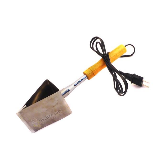 Распечатыватель сот электрический (рубанок для снятия забруса при откачке меда)