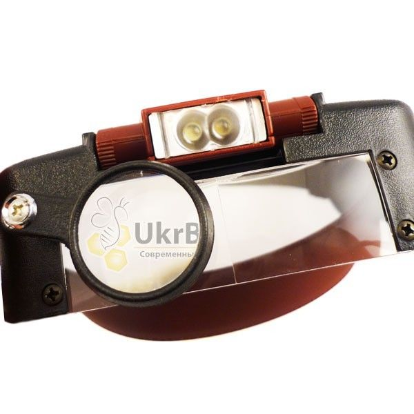 Лупа із знімним підсвічуванням LED для бджільництва (мал 5)