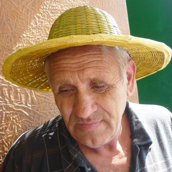 Шляпа от солнца, БАМБУК
