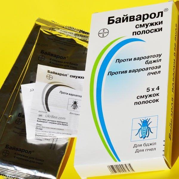 Байварол полоски от варроатоза для пчел, Германия