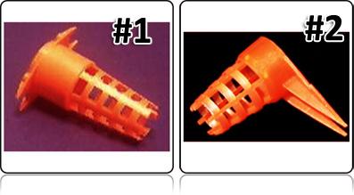 Ковпачки для защиты маточника двух типов и отличаются они только ушками