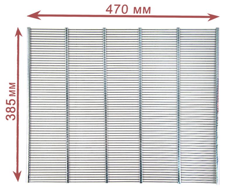 Разделительная решетка (металл) на 10 рамок