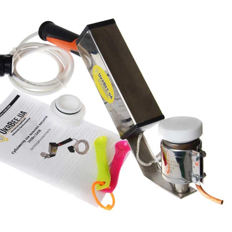 Сублиматор электрический для щавелевой кислоты (общий вид)